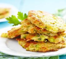 Wegetariańskie kotlety z brokułów i kaszy jaglanej oraz sera żółtego