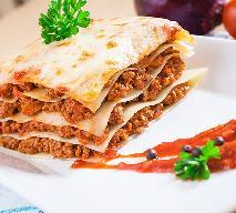 Lasagne z mięsem: przepis