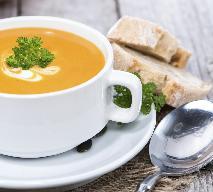 Zupa z dyni: przepis na krem dyniowy z pomarańczą i mleczkiem kokosowym
