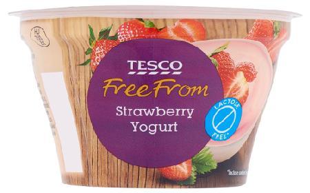 Free From - nowa marka produktów własnych Tesco bez glutenu i laktozy