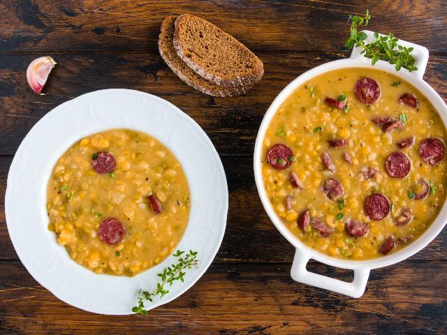 Grochówka Wojskowa Najlepszy Przepis Na Zupę Grochową