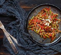 Fasolka szparagowa z sosem bolognese czyli spaghetti z fasolki