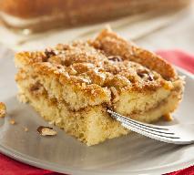 Ciasto cynamonowe z kruszonką - ucieszy ciało, rozgrzeje duszę