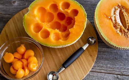 Pierwszorzędne pikantne melony ze słoika