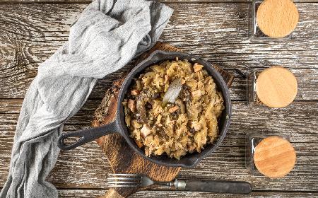Bigos z boczniakami - niezwykle aromatyczny postny bigos