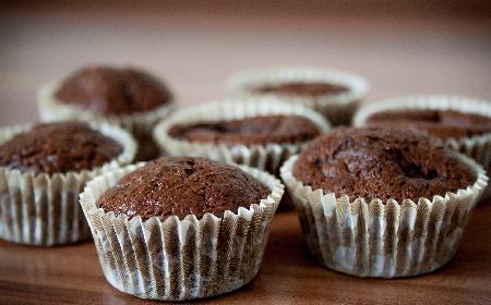 Muffinki czekoladowe - prosty przepis